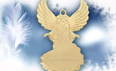 Angel Memorial Ornament