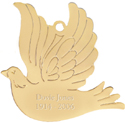 Dove Engraved Ornament